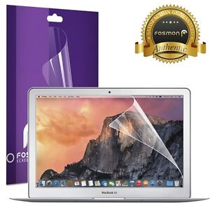 Fosmon-Crystal-Clear-Screen-Protector-Cover-Guard-for-Macbook-Air-13-3-inch-1pc
