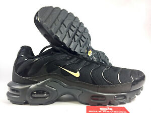 best service 30f10 8333b Image is loading New-NIKE-AIR-MAX-PLUS-TN-Q3169002-Black-