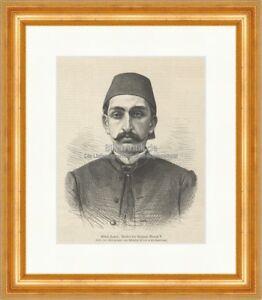 Abdul-Hamid-Bruder-des-Sultans-Murad-V-Osmanisches-Reich-Holzstich-E-21068