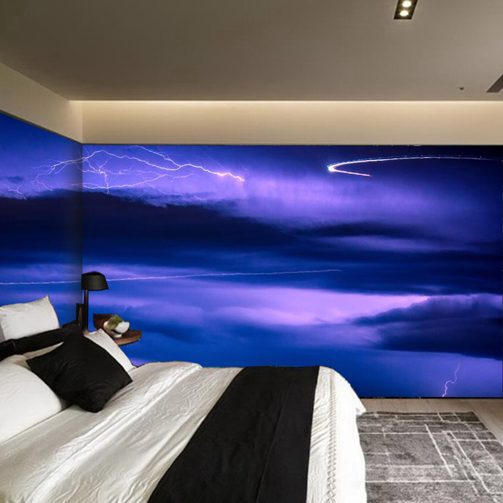 3D Der Himmel blitz 838 Wandbild Fototapete Bild Tapete Familie Kinder DE Lemon