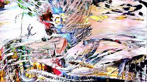 034-Mann-ueber-Bord-034-Wandschmuck-abstrakt-aussergewoehnlicher-Kunstdruck