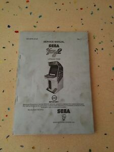 Brillant Sega Virtua Striker 2 Original Service Manual