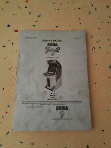 SEGA Virtua Striker 2 Original Service Manual