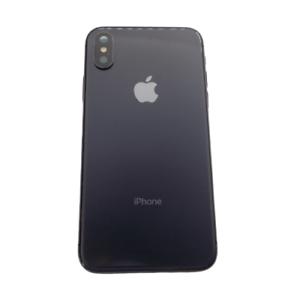 Smartphone-Apple-iPhone-X-Cubierta-parte-trasera-gris-espacio-Genuino-Original-OEM-grado-C