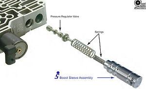 4t65e transmission sonnax boost valve sleeve kit fits gm. Black Bedroom Furniture Sets. Home Design Ideas