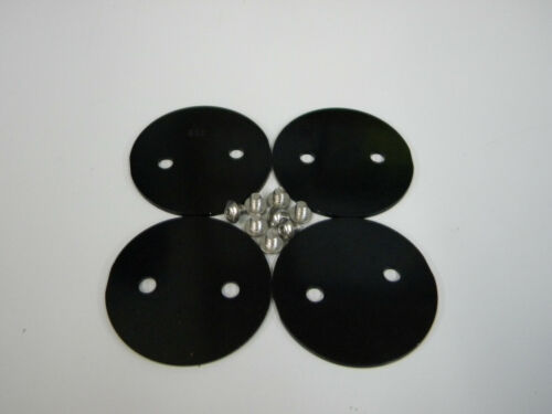 "Black Anodize Dominator Throttle Plate # Holley QFT AED 9-342 BLK 2 1//8/"" 2.125"