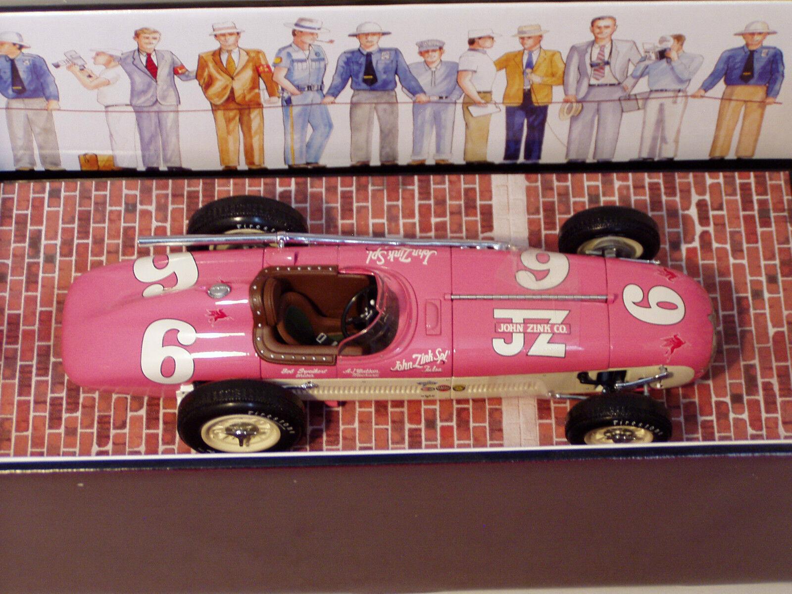 1 18 Carousel 1 Kurtis Kraft Roadster John Zink Special Indy 1st 1955 B.Sweikert