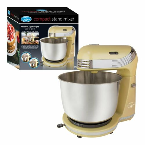 CREAM Quest 34440 3 Litre Compact 6 Speed Stand Mixer