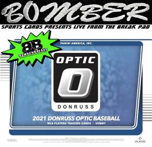 Arizona Diamondbacks 2021 Panini Donruss Optic Baseball Hobby 4-Box Break 4