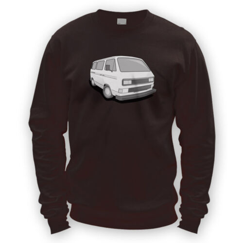 German Look Wedge Sweater Gift Present Bus Camper T3 Van T25 x8 Colours