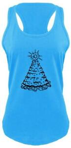 Christmas-Tree-Graphic-Tee-Xmas-Party-Gift-Holiday-Ladies-Tank-Top-Z6