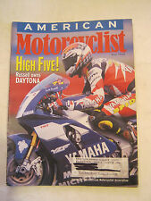 May 1998 American Motorcyclist Magazine, Russell Owns Daytona  (BD-30)