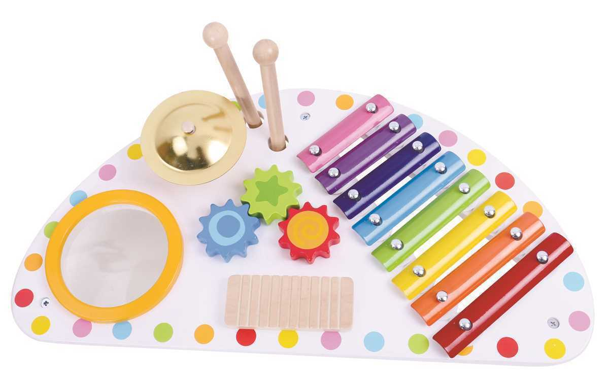 Multi Function Music Centre   Tooky Toy   xylophone drum and more