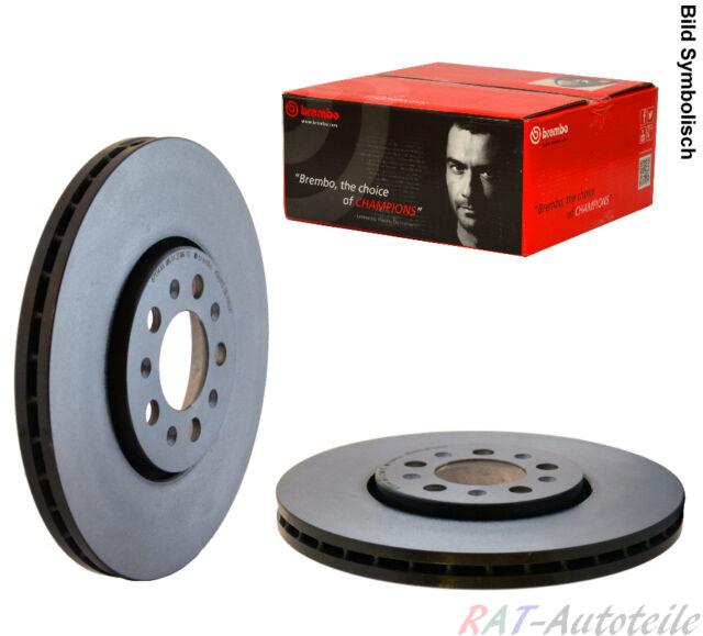 Brembo2 Bremsscheiben COATED DISC LINE Belüftet Ø 284 mm Bremsbeläge Vorne