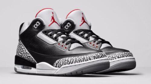 Black Release 136064 Cement 3 Nike 10 Air Jordan Tamaño Retro 2011 5 Iii 010 z1XzC8q