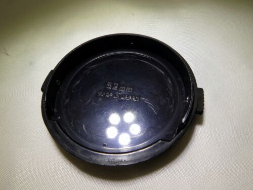 Nikon 52mm Lens Front Cap Black EOM Free Shipping USA