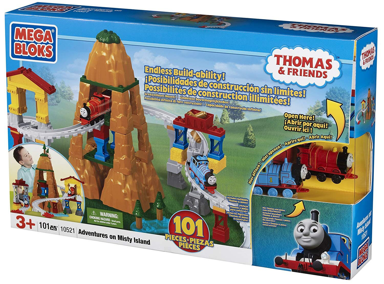 Mega Bloks Thomas Buildable Adventures on Misty Island Playset