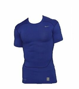 f338abaeda54d Details about Nike Pro combat Compression 1/2 Sleeve Shirt 535720-419