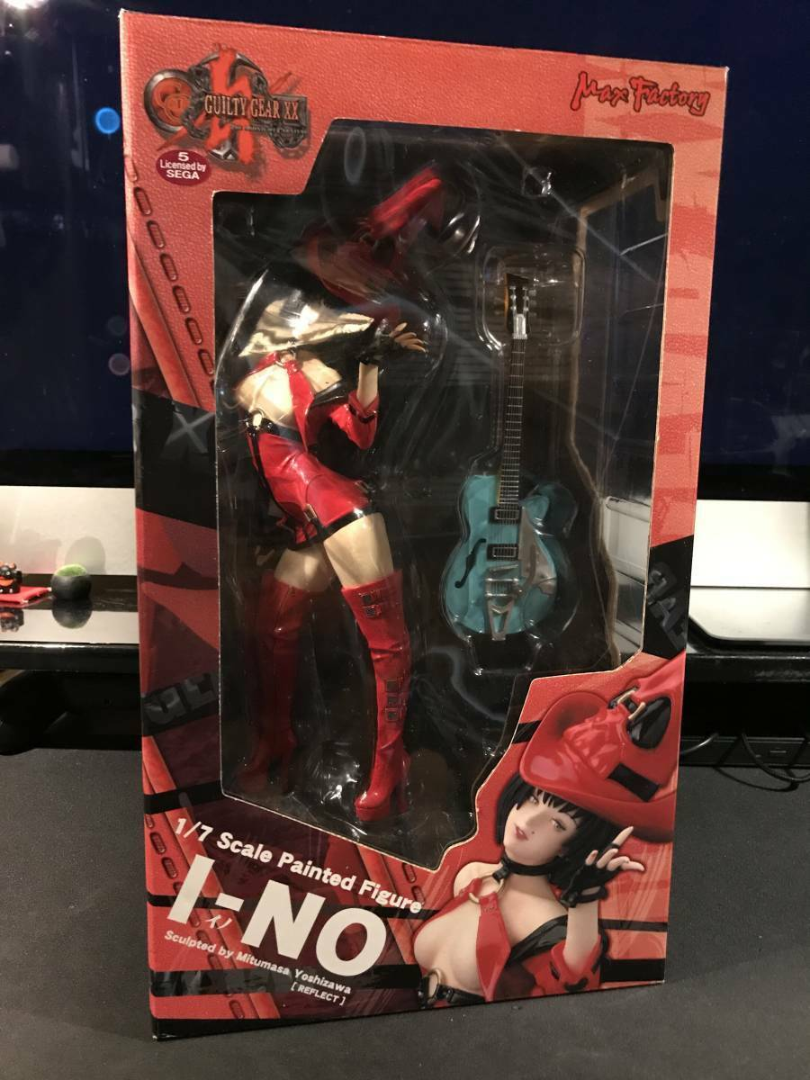 Guilty Gear XX I-No Figure Max Factory  GG GAME F S FROM JAPAN USED