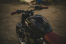 Kinetic Motorcycles Triumph Gauge Relo (Bonneville, Scrambler, Thruxton)