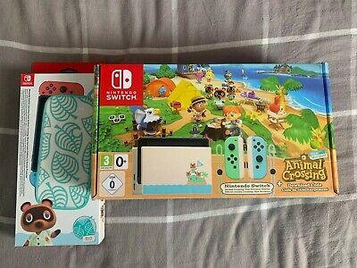 Nintendo Switch Animal Crossing New Horizon Console Bundle ...