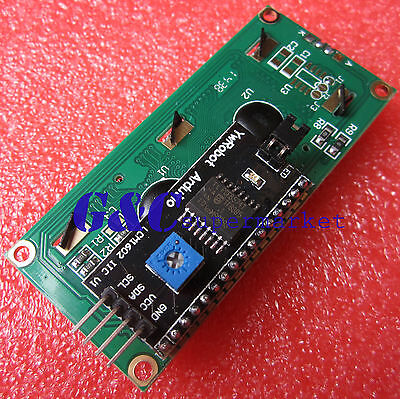 Blue Display IIC/I2C/TWI/SPI Serial Interface 1602 16X2 LCD Module M70