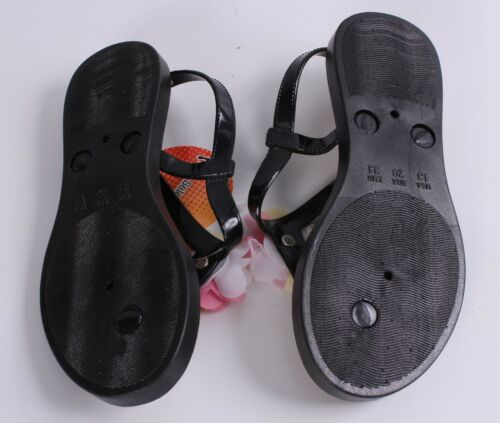 Girl/'s Summer Sandals Flower Detail Sizes 12-4 Choose From 4 Colors