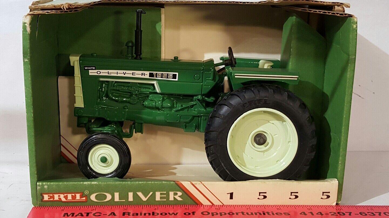 Ertl Oliver 1555 1555 1555 1 16 diecast farm tractor replica collectible 569e33