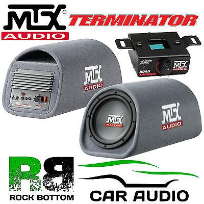 Mtx tr8pt Terminator 360 W 8 Pulgadas Activo Sub caja caja de SUBWOOFER coche bajo tubo