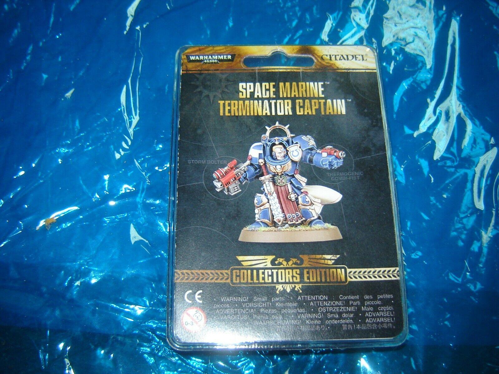 Games Workshop Collectors edition Space Marine Captain