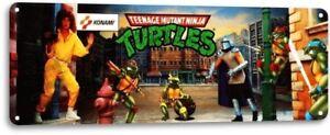Ninja-Turtles-TMNT-Classic-Arcade-Marquee-Game-Room-Wall-Decor-Metal-Tin-Sign