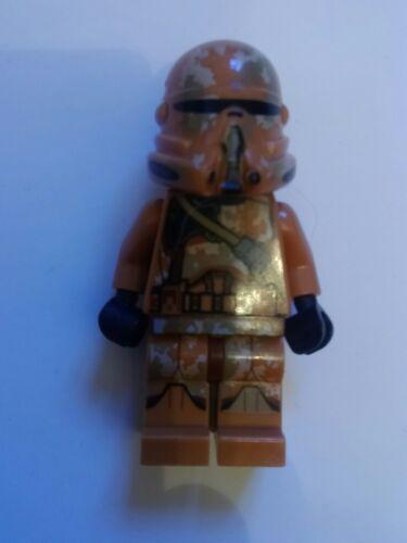 Genuine Lego Star Wars SW606 CLONE TROOPER FIGURE minifigura los Geonosis