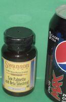 Beta Sitosterol (w/ 99% Phytosterols) & Standardized Saw Palmetto, 30 Day Supply