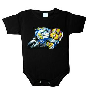 new product 6db9e d03b6 Details about Baby Body Biker r1 46 Moto GP Baby Clothes Romper Underwear  Gift- show original title