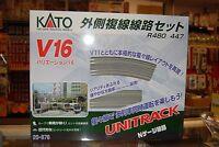 N Kato Unitrack 20876 V16 Double Track Outer Loop Set