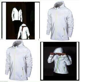 NEW! Nike Vapor Flash FULL REFLECTIVE Jacket WOMEN S LARGE New With ... cdc44be5e