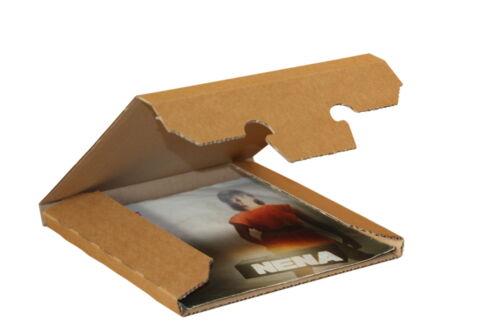200 St. 1-6 St. Vinyl Single Karton, 185x185x12 mm, starker Kraftliner, 7 Zoll