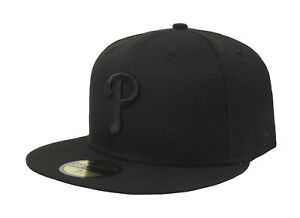 New-Era-59Fifty-MLB-Cap-Philadelphia-Phillies-Black-on-Black-Fitted-Hat