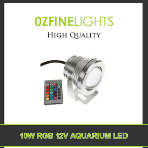 10W-12V-LED-Aquarium-RGB-LIGHT-COLOR-CHANGE-24-keys-IR-REMOTE