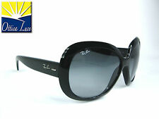 RAY BAN JACKIE OHH II 4098 601/8G NERO Sunglass Occhiali Sole Sonnenbrille