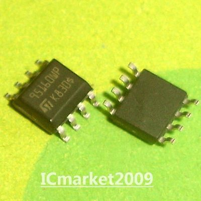 50pcs M95160-WMN6 95160WP ORIGINAL ST 16Kbit and 8Kbit Serial SPI Bus EEPROM