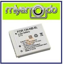 NB-6L Rechargeable Li-Ion Battery for Canon SX260 SX500 D20 500HS SD770