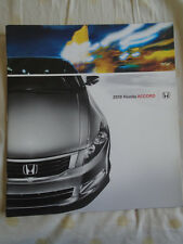Honda Accord brochure 2010 USA market