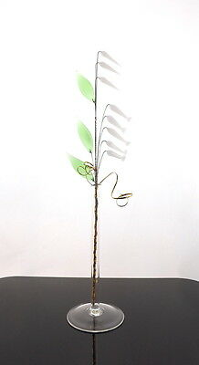 Simply Wild Flowers With Vase Ornament For Window Mantelpiece Shelf Display New