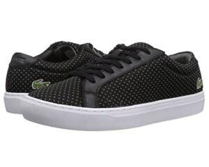 Lacoste-7-35CAM0055237-L-12-12-Black-Grey-Men-039-s-Casual-Sneaker-Shoes
