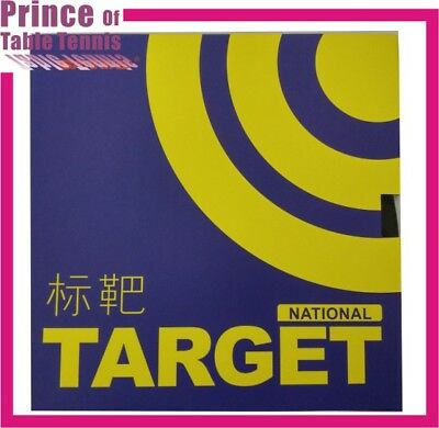Sanwei Target Table tennis Pimples in Rubber (National Team Ver. -- Blue sponge)