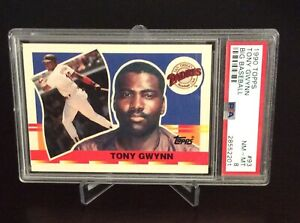 1990 Topps Tony Gwynn Big Baseball PSA 8 #93 San Diego Padres HOF Hit Machine