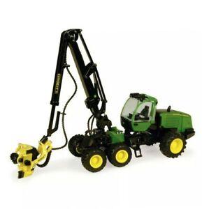Ertl-45466-John-Deere-1270E-Wheeled-Log-Harvester-1-50-Die-cast-MIB