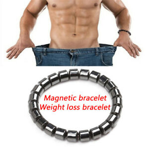 Magnetic-Healthcare-Bracelet-Weight-Loss-Healthy-Hematite-Stone-Beads-FJ