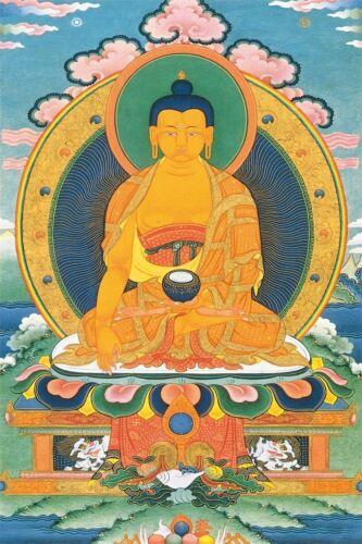 """Buddha Shakyamuni Portrait Art Wall 36/""""x24/"""" Poster B01"""